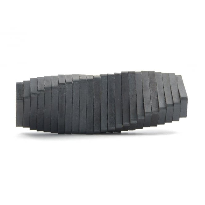 Guy's Magnets 25 mm x 10 mm x 3 mm C8 ferrite block
