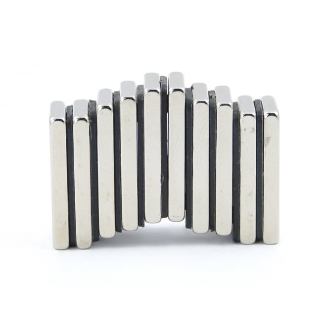 Guy's Magnets 25 mm x 10 mm x 3 mm N52 neodymium block