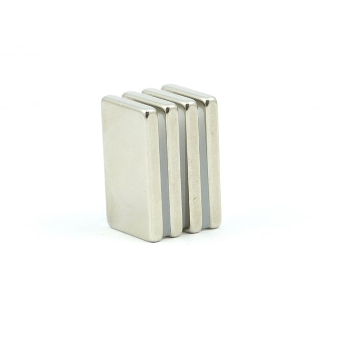 Guy's Magnets 25 mm x 15 mm x 3 mm neodymium block