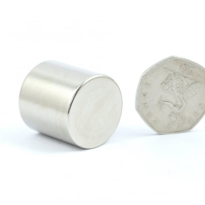 Guy's Magnets 25 mm x 25 mm neodymium disk