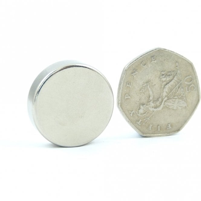 Guy's Magnets 25 mm x 7mm N42 neodymium disk