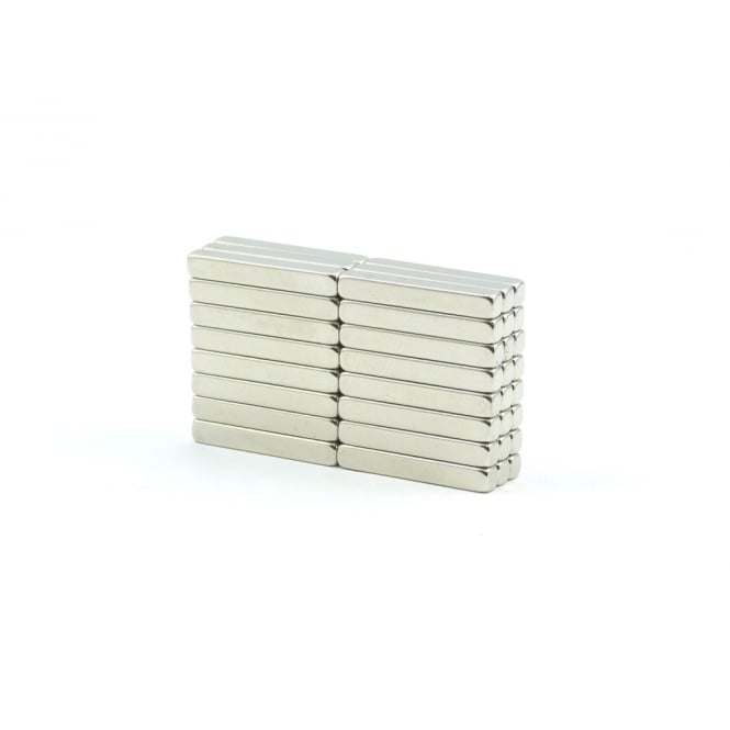 Guy's Magnets 3 mm x 3 mm x 20 mm neodymium block