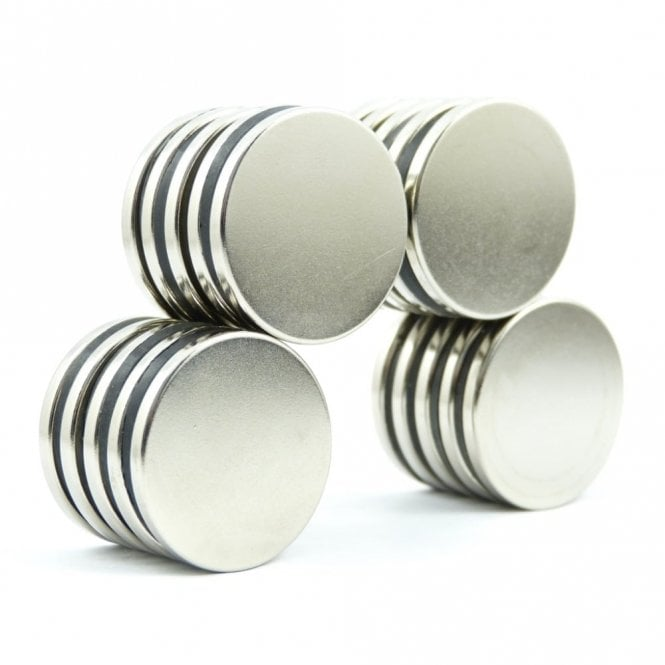 Guy's Magnets 30 mm x 3 mm N52 high grade neodymium disk