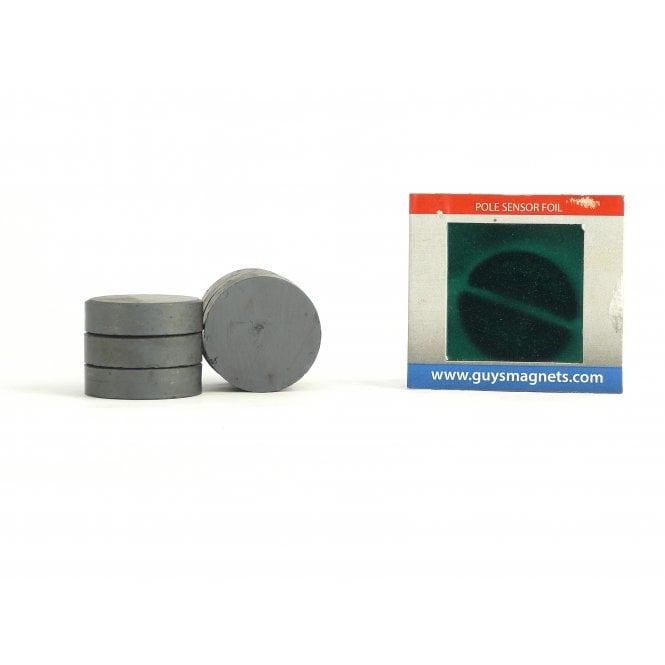 Guy's Magnets 30 mm x 8 mm DIAMETRIC ferrite disk