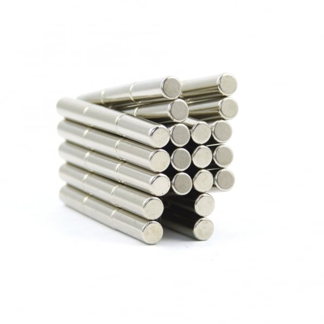 Guy's Magnets 4 mm x 12.5 mm N42 neodymium rod