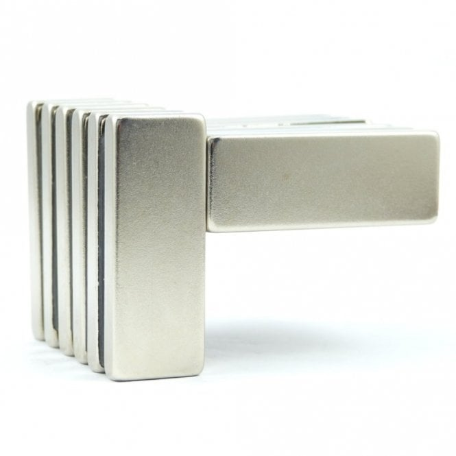 Guy's Magnets 40 mm x 15 mm x 5 mm N40 neodymium block