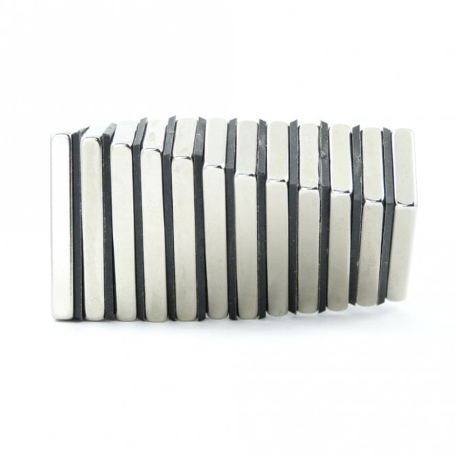 Guy's Magnets 40 mm x 20 mm x 5 mm N42 neodymium block