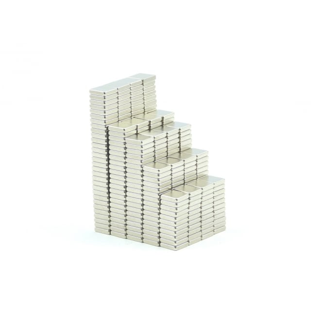 Guy's Magnets 5 mm x 5 mm x 1.2 mm neodymium block