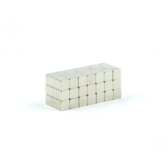 Guy's Magnets 5 mm x 5 mm x 2 mm N52 neodymium blocks