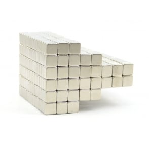 5 mm x 5 mm x 3 mm N52 neodymium blocks