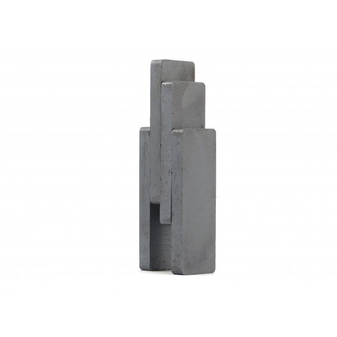Guy's Magnets 50 mm x 19 mm x 4.9 mm C8 ceramic ferrite block