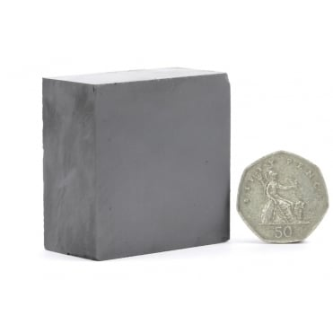 50 mm x 50 mm x 25 mm C8 ceramic ferrite block