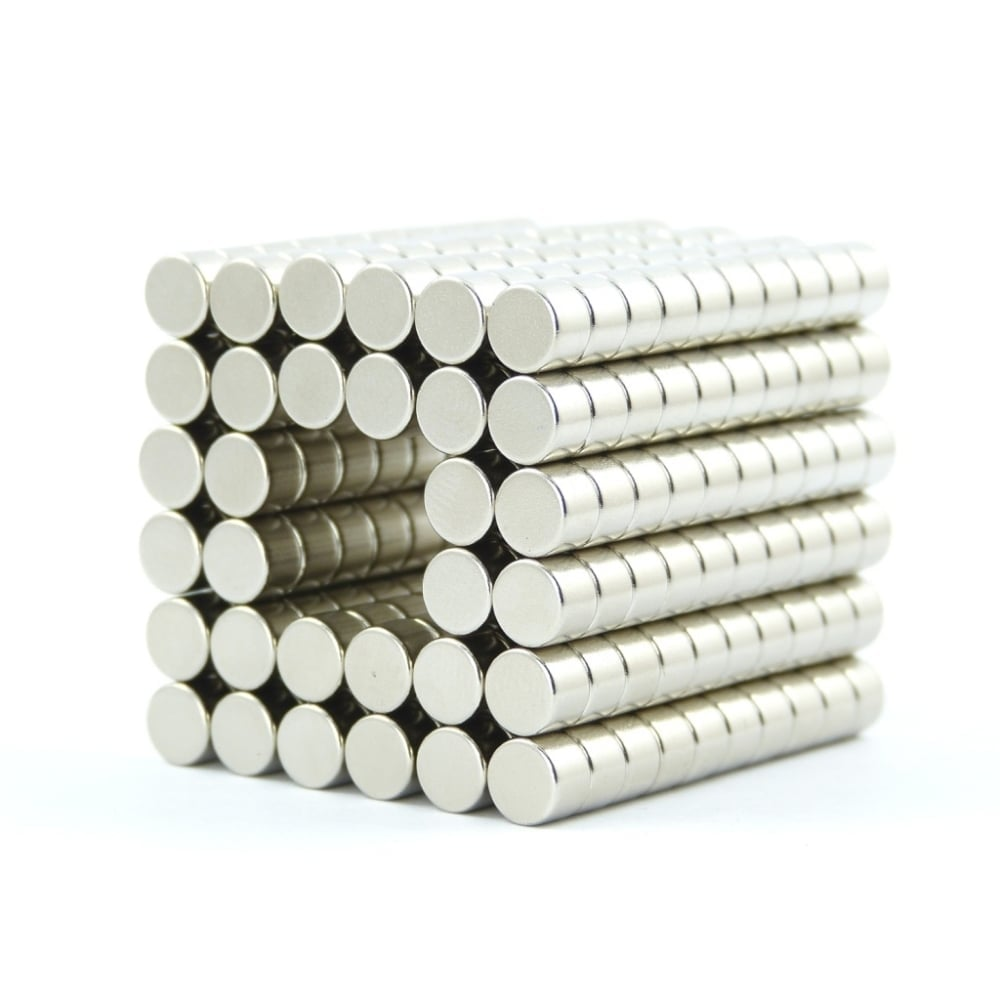 50 strong Neodymium block magnets 14mm x 9mm x 3mm N35 craft fridge DIY MRO
