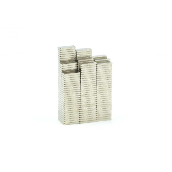 Guy's Magnets 8 mm x 3 mm x 1 mm High Grade N45 neodymium block magnets