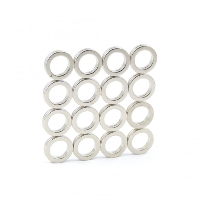 Guy's Magnets 9.5 mm x 6.35 mm x 1 mm N52 neodymium ring