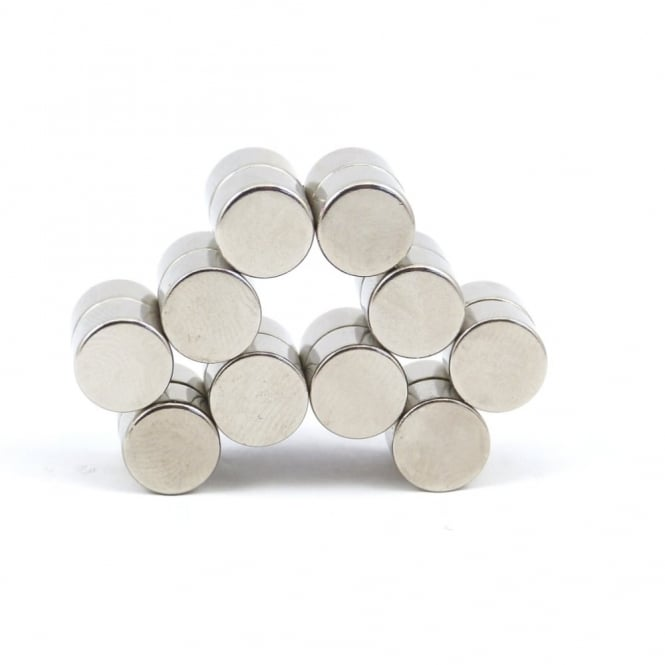 Guy's Magnets 9 mm x 6.3 mm neodymium disk