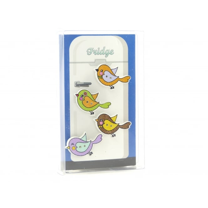 Guy's Magnets Bird Fridge Magnets - box of 4