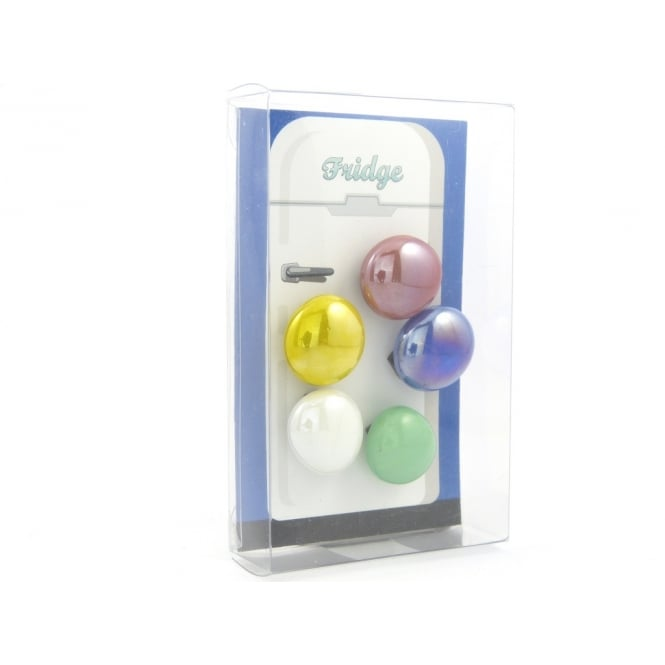 Guy's Magnets Glass Pebble fridge /whiteboard magnets MIXED - pack 5