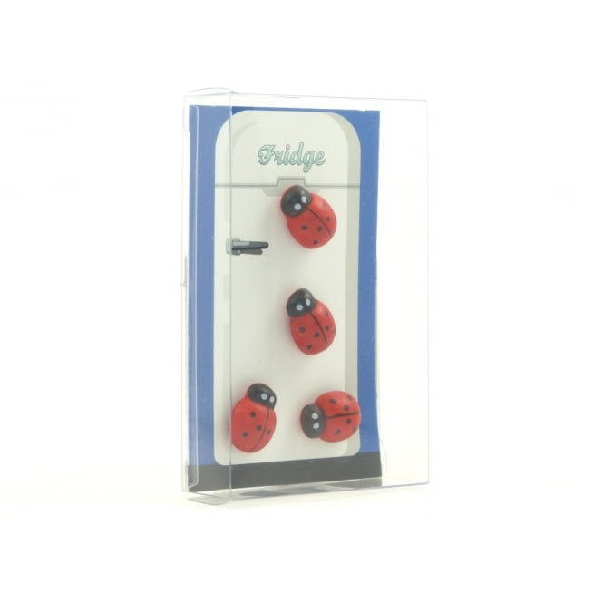 Guy's Magnets Ladybird fridge magnets - Box of 4