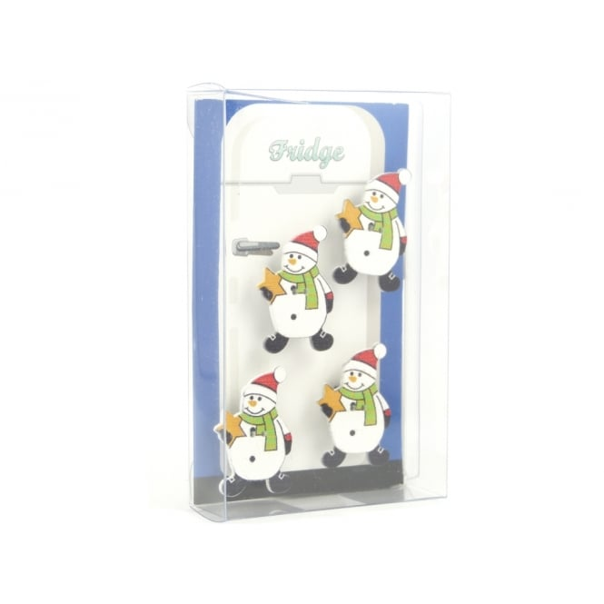 Guy's Magnets Snowman fridge magnets - box of 4