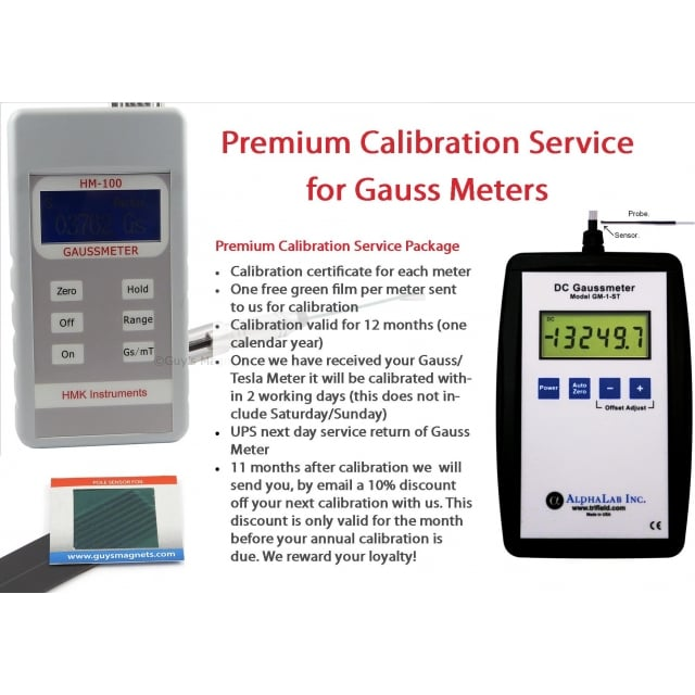 Premium Calibration Service